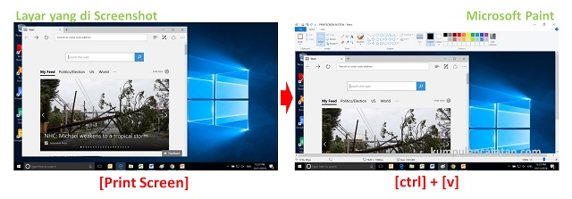Cara Mengambil Screenshot di Windows 10 (mengambil layar penuh)