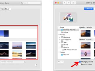 cara setting wallpaper di macbook mac os
